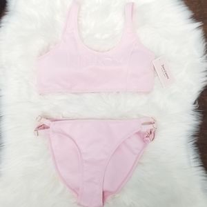 Juicy Couture Women's Pink 2pc Bikini New